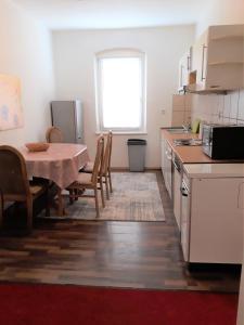 Küche/Küchenzeile in der Unterkunft Diana Appartement