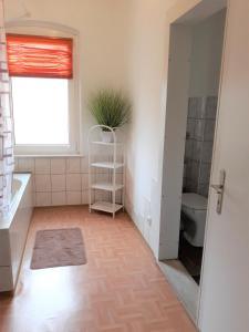 Ein Sitzbereich in der Unterkunft Diana Appartement