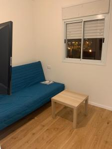 A seating area at studio