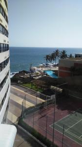 A balcony or terrace at Ondina Apart Hotel Salvador