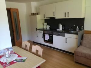 Küche/Küchenzeile in der Unterkunft Appartement Pöll Kathrin
