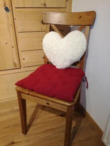 Ein Sitzbereich in der Unterkunft Appartement Pöll Kathrin