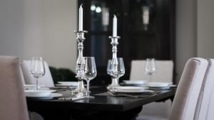 A restaurant or other place to eat at Palacina Berlin - Serviced Apartments