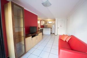A television and/or entertainment centre at Porto de Iracema 630