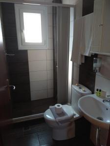 A bathroom at Apartment Toula
