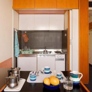 A kitchen or kitchenette at Residence Viserba