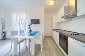 Kuhinja ili čajna kuhinja u objektu Apartments Mali Nono