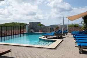 The swimming pool at or near The Natural Curacao