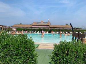 The swimming pool at or close to Fattoria Palazzeta