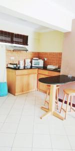 Küche/Küchenzeile in der Unterkunft Residence Les Peupliers
