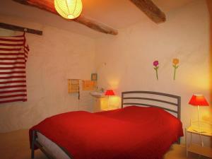Un ou plusieurs lits dans un hébergement de l'établissement Le Serre Des Granges-Plus