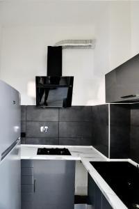 Kuchyň nebo kuchyňský kout v ubytování Vescovio Palace Apartment