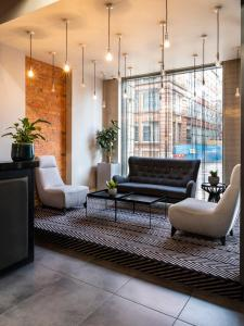 The lobby or reception area at Church Street by Supercity Aparthotels