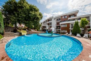The swimming pool at or near Messambria Fort Noks Beach Apartments