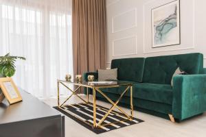 Svetainės erdvė apgyvendinimo įstaigoje Bed&Bath Novum Apartments