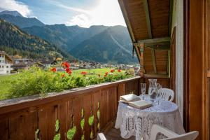 Ein Balkon oder eine Terrasse in der Unterkunft Ferienwohnungen Stefan Kröll