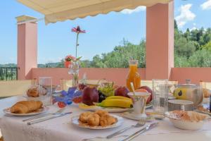 Επιλογές πρωινού για τους επισκέπτες του Casa Elisabetta Corfu