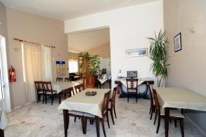 A restaurant or other place to eat at Evilion hotel