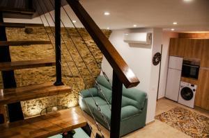 Zona de estar de Casa Cueva El Arrabal