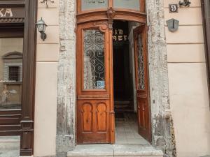 The facade or entrance of Apartment on Stavropigijska Street