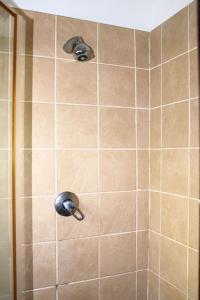 A bathroom at 10 St Malo Umdloti Magic