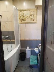 A bathroom at Apartment with Terrace