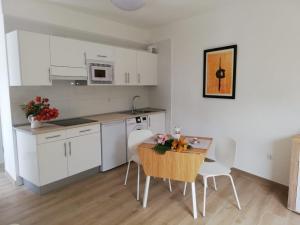 Una cocina o zona de cocina en Casa Lita