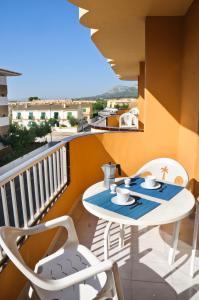 Ein Balkon oder eine Terrasse in der Unterkunft RVHotels Apartamentos Els Salats