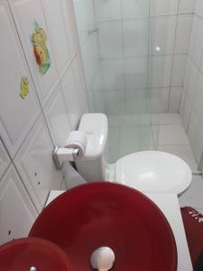 A bathroom at Cantinho de Itapuã