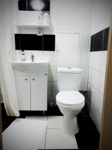 Ванная комната в Rauschen apartments