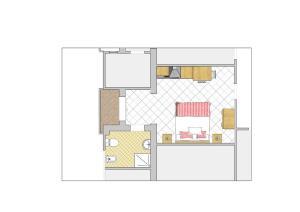 Planimetria di Residence BluAdria