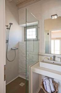 A bathroom at Cloud Blue
