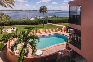 A view of the pool at Coquina Moorings 202 - Three Bedroom Condo or nearby
