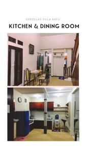 The fitness centre and/or fitness facilities at deRollas Villa Batu
