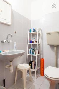 A bathroom at Ashdod Mediterranean