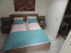 Ein Bett oder Betten in einem Zimmer der Unterkunft Hauswirth Apartments