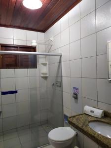 A bathroom at Village Miramar