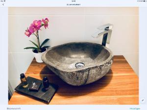 Ein Badezimmer in der Unterkunft Max-Apartment