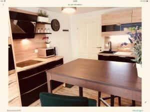 Küche/Küchenzeile in der Unterkunft Max-Apartment