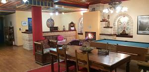 A restaurant or other place to eat at Archontiko Zarkada