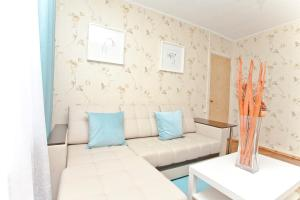 A seating area at Serviced Apartments Belorusskaya - Moscow