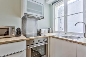 A cozinha ou cozinha compacta de 29 Best Flat Paris Marais