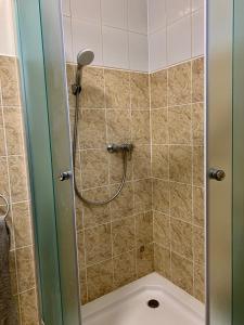 A bathroom at Bratislava Apartments 3