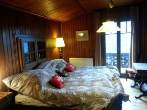 Ein Bett oder Betten in einem Zimmer der Unterkunft Chalet Valerie