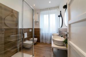 Koupelna v ubytování *****AmoRhome***** New Luxury apartment in the heart of Rome