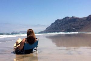 Lanzarote Famara Beach