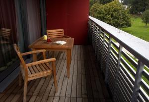 A balcony or terrace at Senevita Residenz Multengut