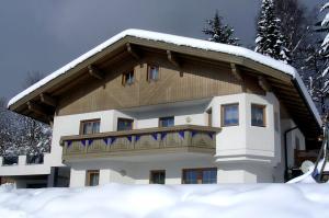 Ferienhaus Sporer im Winter