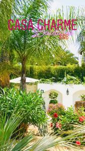 Jardín al aire libre en Casa Charme Boutique Apartment 'adults only'