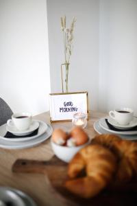 Frühstücksoptionen für Gäste der Unterkunft Locals Apartment Katwijk